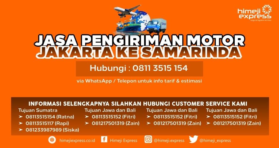 Jasa_Kirim_Motor_Jakarta_ke_Samarinda
