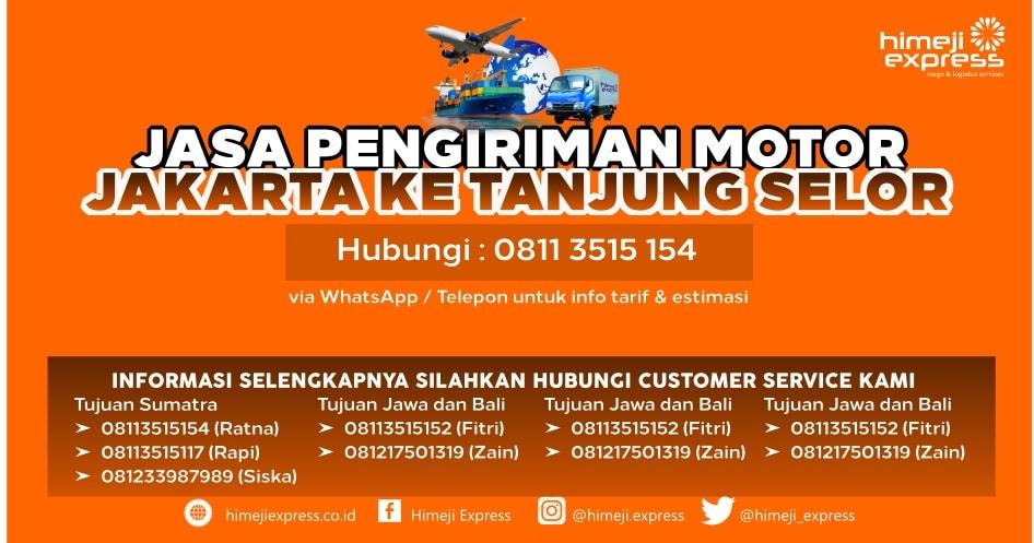 Jasa_Kirim_Motor_Jakarta_ke_Tanjung_Selor