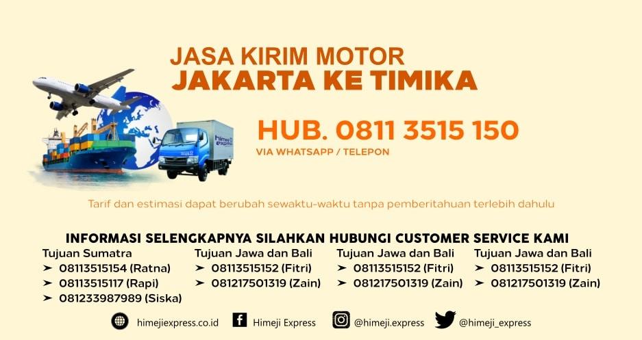 Jasa_Kirim_Motor_Jakarta_ke_Timika