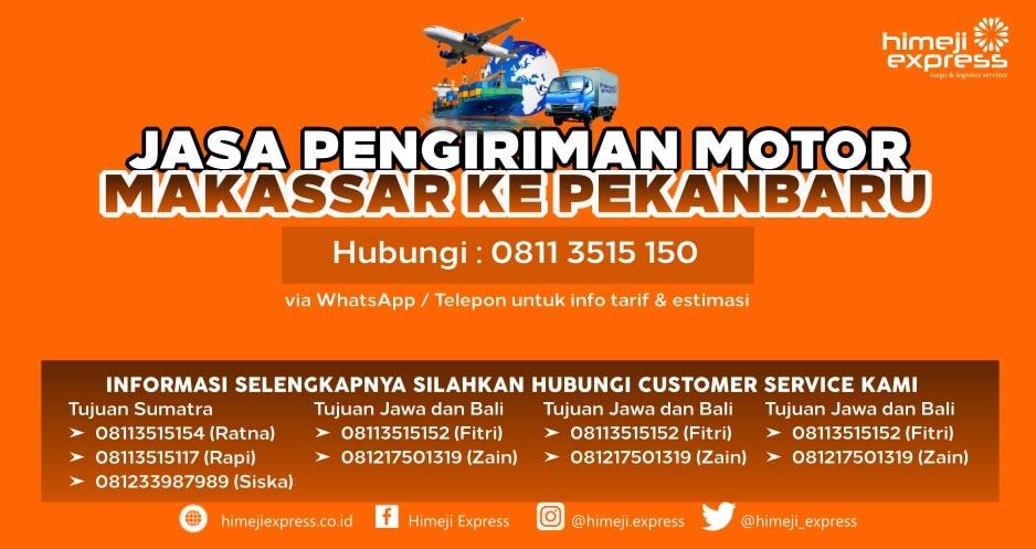 Jasa_Kirim_Motor_Makassar_ke_Pekanbaru
