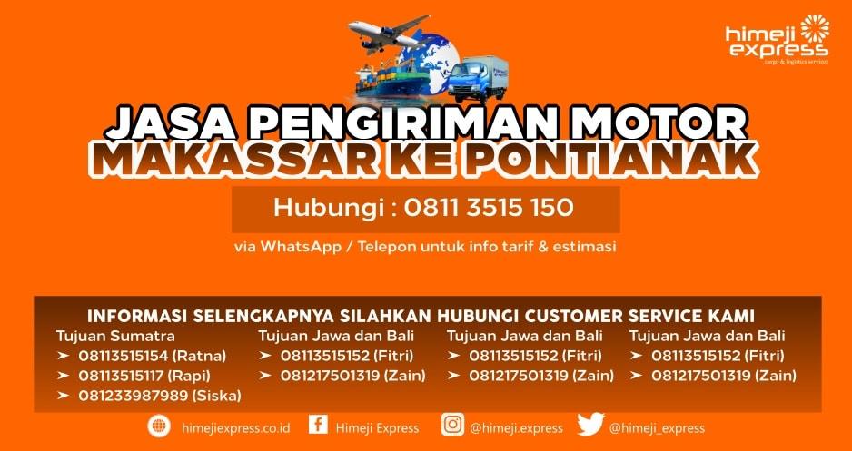 Jasa_Kirim_Motor_Makassar_ke_Pontianak