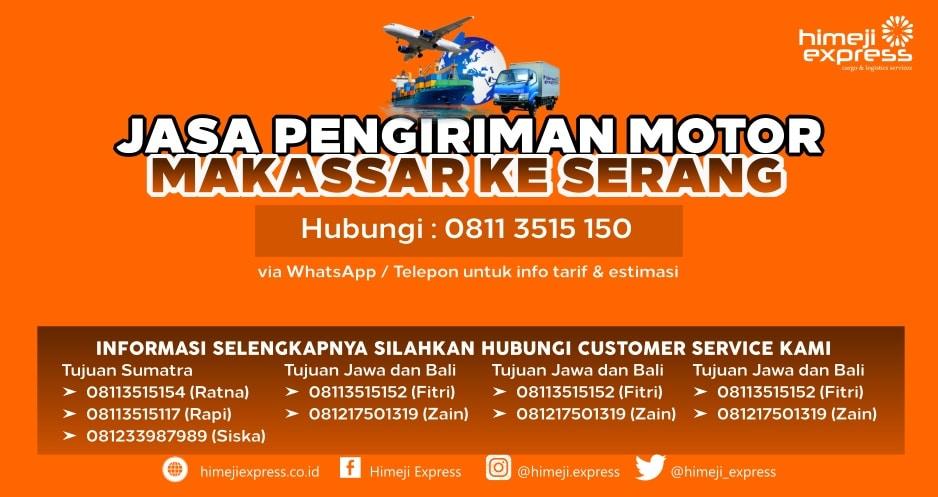 Jasa_Kirim_Motor_Makassar_ke_Serang