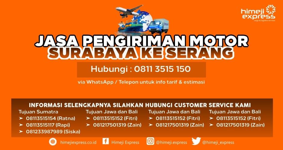 Jasa_Kirim_Motor_Surabaya_ke_Serang