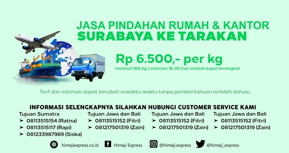 Jasa_Pindahan_Rumah_dan_Kantor_Surabaya_ke_Tarakan