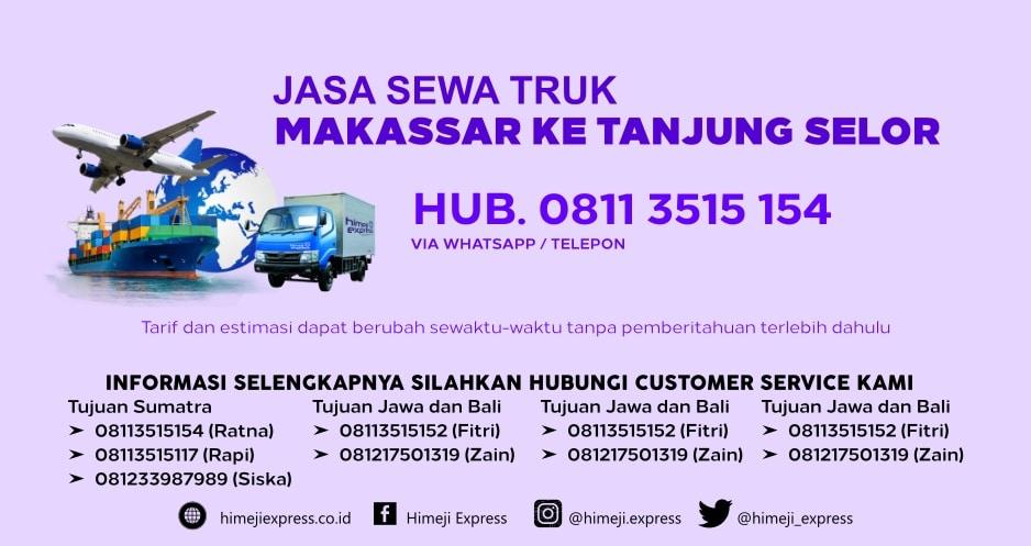 Jasa_Sewa_Truk_dari_Makassar_ke_Tanjung_Selor
