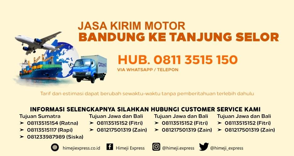 Jasa_Kirim_Motor_Bandung_ke_Tanjung_Selor