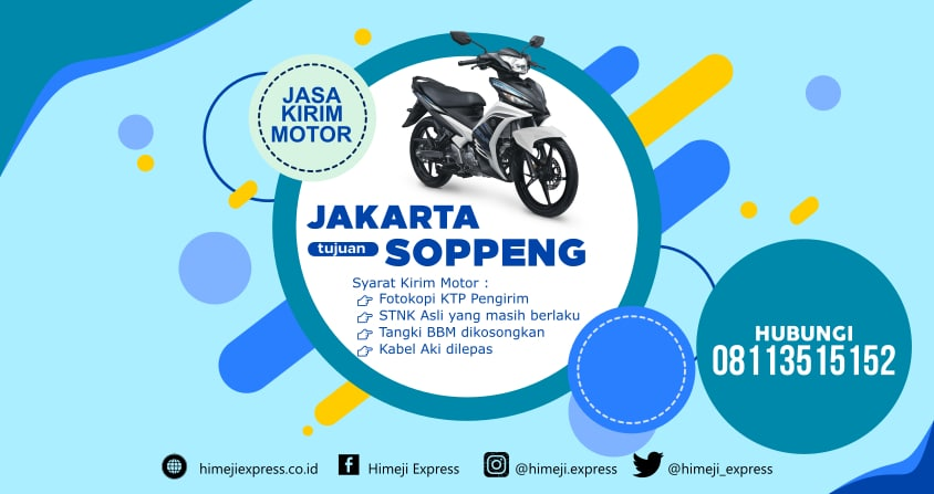 Jasa_Kirim_Motor_Jakarta_ke_Soppeng