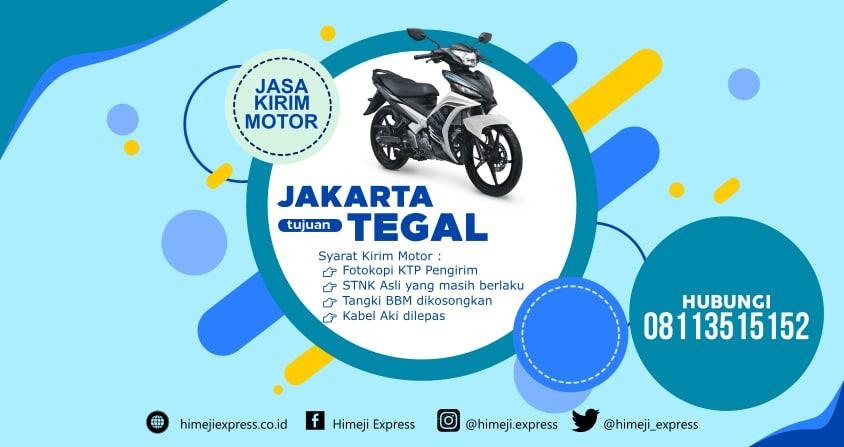 Jasa_Kirim_Motor_Jakarta_ke_Tegal