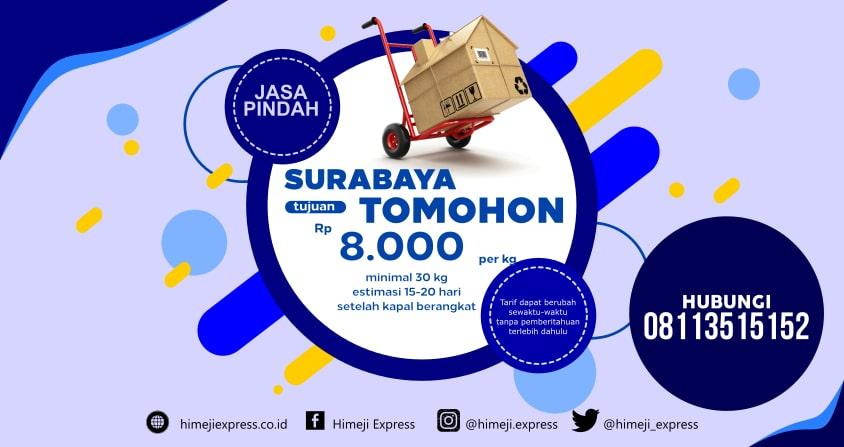 Jasa_Pindahan_dari_Surabaya_ke_Tomohon