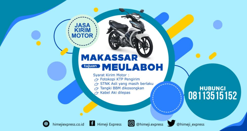 Jasa_Kirim_Motor_Makassar_ke_Meulaboh