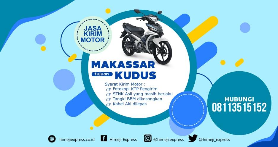 Jasa_Kirim_Motor_Makassar_ke_Kudus